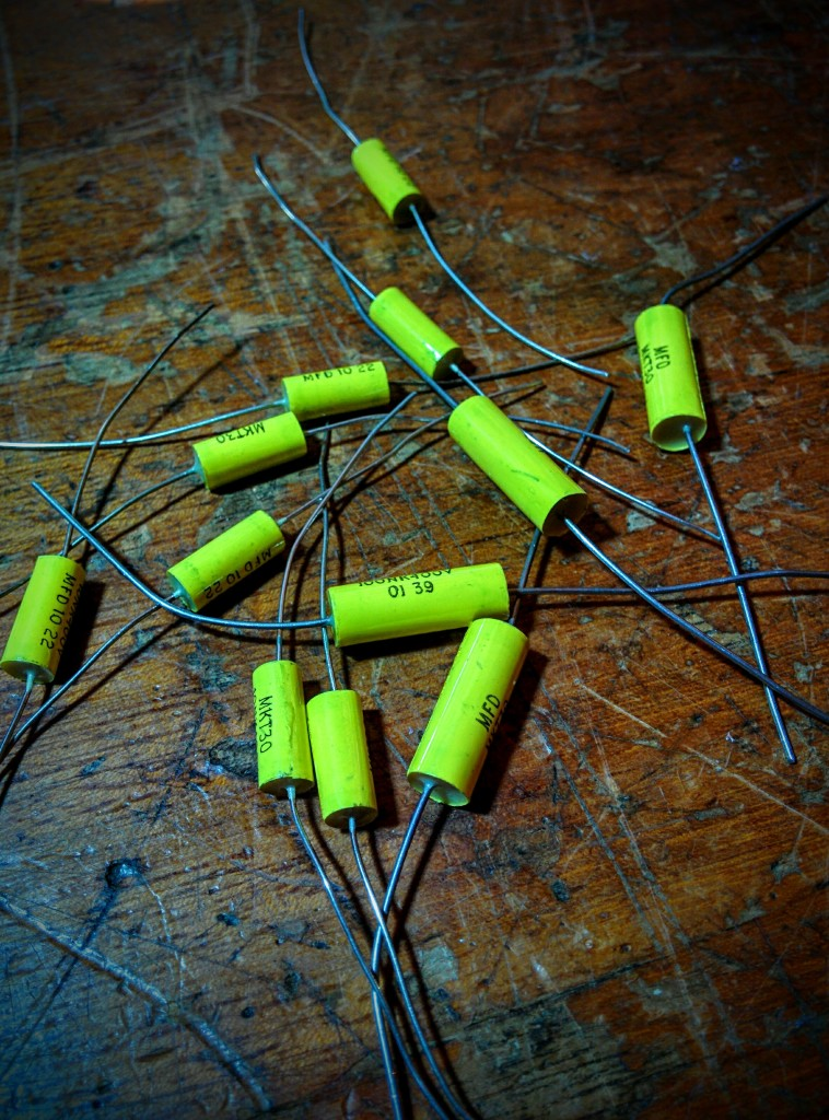 Custom Polyester Capacitors made in the UK