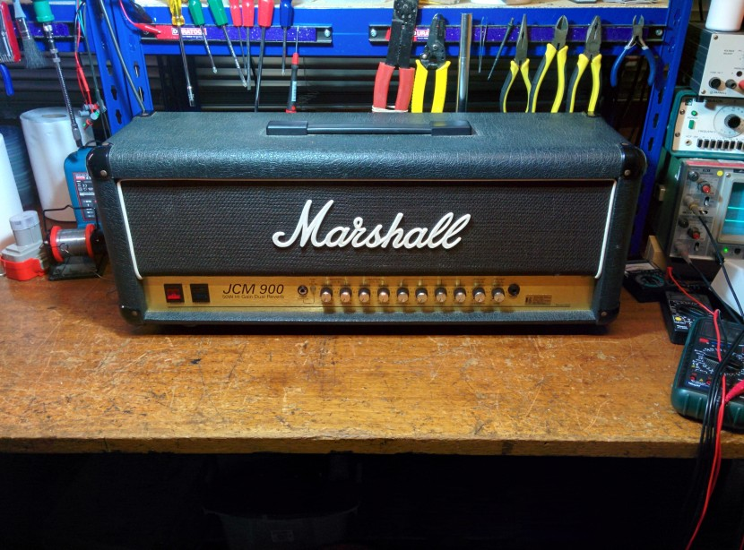 marshall jcm900 amplifier repair