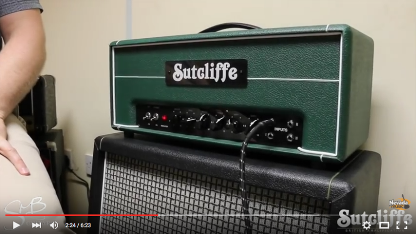 Sutcliffe Plexi video
