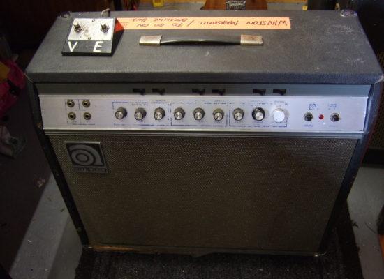 Ampeg GV-22 repair